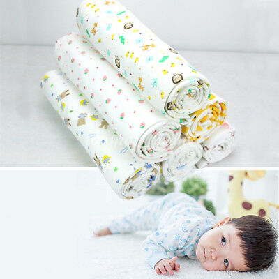 """Soft White Cotton Fabric Handmade DIY For Baby Clothes Bibs Multi Patterns 19.5"""""""