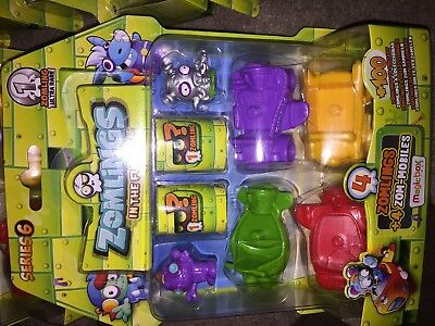 Zomling In The Future Series 6-Choose Your Blister Pack Each Has 1 Rare Zomlings