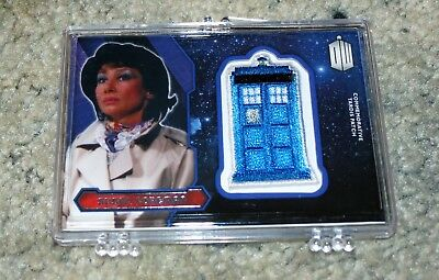 Doctor Who 2015 Susan Foreman Tardis Patch Trading Card