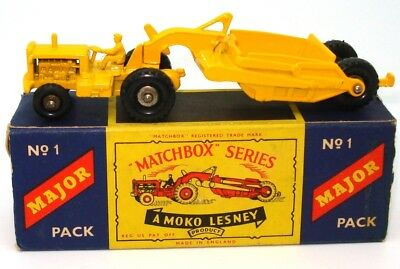 Lesney Major Pack No. 1 Caterpillar Earthmover - Mint & Boxed