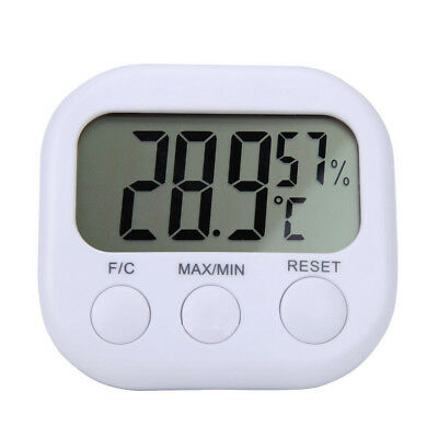 Digital LCD Thermometer Indoor Hygrometer Temperature Humidity Meter Test Gauge