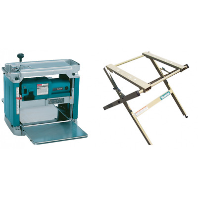 Makita Planer Thicknesser 2012NBX With Stand 194053-0 240v