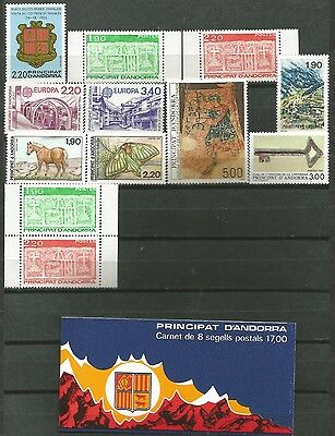 ANDORRA French 1987 Complete