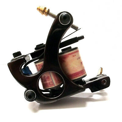 Blued RUPEE Tattoo Machine ( Gun ) - CHOOSE LINER or SHADER set-up - UK SELLER