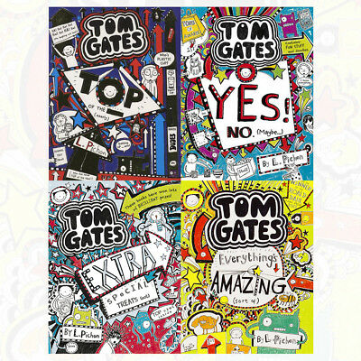 Yes! No (Maybe...) (Tom Gates) Book By Liz Pichon NEW BRAND UK