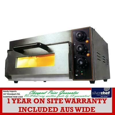 Electric Pizza Oven Single Deck  - TEP-1SKW VALUE