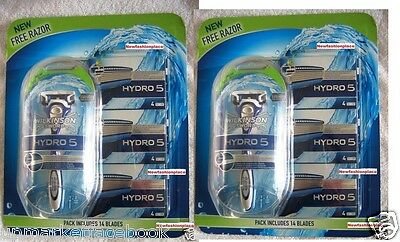 WILKINSON SWORD HYDRO 5 (2-pack) Total: 2 RAZORS + 28 BLADES