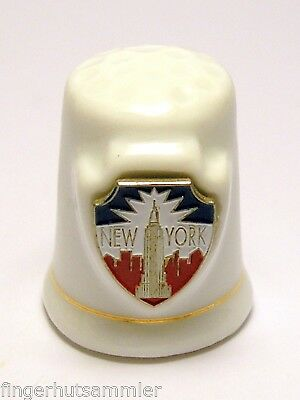 Fingerhut Thimble - New York
