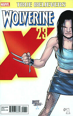 TRUE BELIEVERS: WOLVERINE X-23 #1, New, Marvel Comics (2017)
