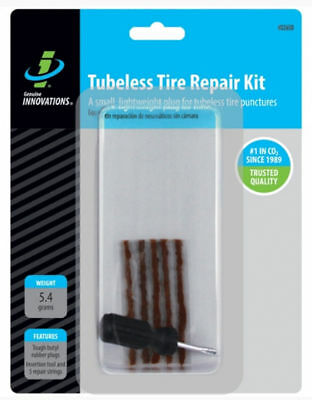 Genuine Innovations Bike Cycle Cycling Tubeless Tyre Repair Kit