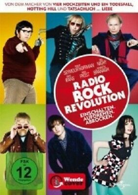 Radio Rock Revolution - Dvd Neuf Philip Seymour Hoffman,Bill Nighy,Rhys Ifans