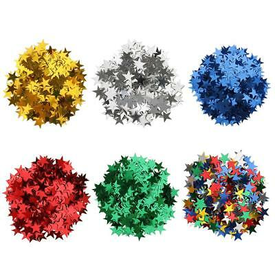 15g Star Table Confetti Christmas Wedding Birthday Party Scatters DIY 10mm 6mm