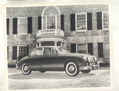 1963 ? Jaguar USA 3.4 ORIGINAL Factory Photograph wy4696