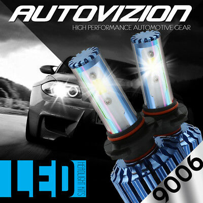 AUTOVIZION LED HID Headlight kit 9006 White for 2003-2006 Ford Expedition