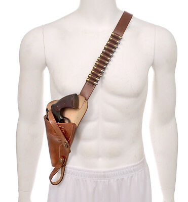 US M3 Victory Revolver Pilots Shoulder Holster with shell loops LEFT HAND
