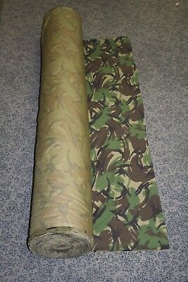 British Army Disruptive Pattern Mode (DPM) Material Non-ripstop NEW OFF ROLL