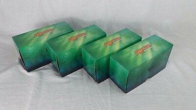 MTG 500 Card 400 Sleeved Empty Storage Box Magic the Gathering Planeswalker x 4