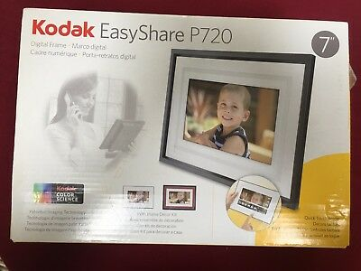 Never Used - Kodak Easyshare P720 Digital Picture Frame with Home Decor Kit