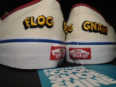 847ac6b0add790 2016 Vans Authentic Camp Flog Gnaw Cfg Golf Wang Off White Yellow Red Blue  8.5