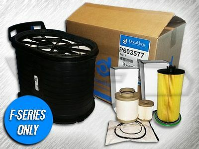 6.0L Turbo Diesel 1 Air Filter 1 Oil And Fuel Filter - Replaces Fa1746 Fd4604