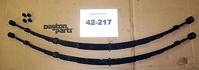 Rear Leaf Springs Ford Pass. Car 1957-59 W/ Retractable