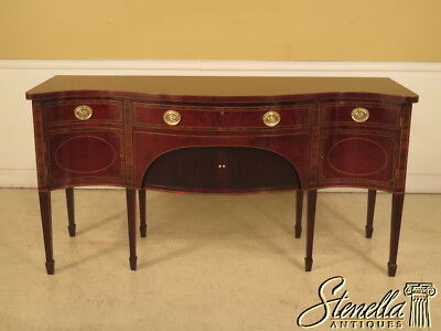 L25259E: SMITH & WATSON Fine Quality Inlaid Mahogany Sideboard