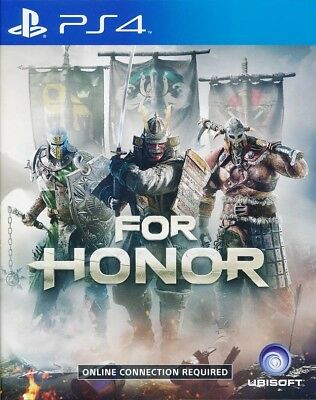 For Honor PS4 Game Brand New Sealed