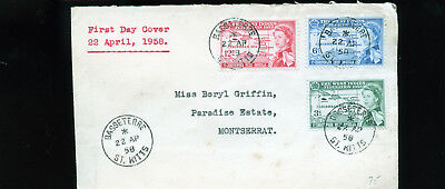 Vintage 1958 Cover from West indies to Montserrat  BL1300