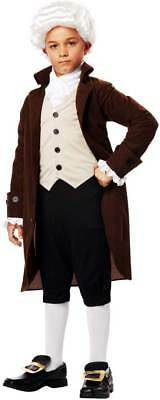 Ben Franklin Founding Father Political Colonial Historical Costume Child Boys