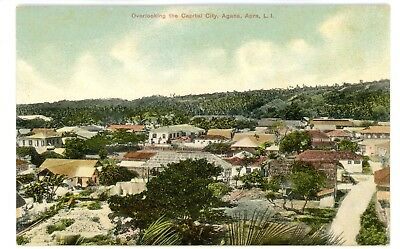 Apra Agana Guam - BIRDSEYE VIEW OF CAPITAL CITY - Postcard