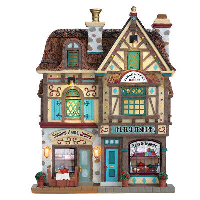 Lemax - 75198 - The Teapot Shop Fassade, New Collection 2017!