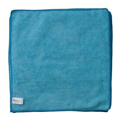 Oates Microfibre Cloth Blue Pack of 10 BARGAIN