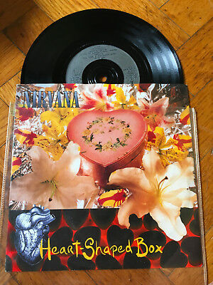"7""  Nirvana ‎– Heart-Shaped Box Label: Geffen Records ‎– GFS 54 Format: GRUNGE"