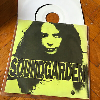 "SOUNDGARDEN Outtakes Vinyl 7"" 1989 John Peel Sessions   GRUNGE NIRVANA"