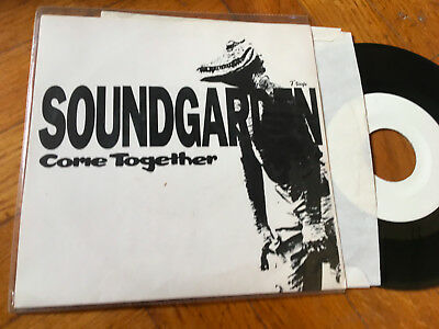 "7""     Soundgarden ‎– Come Together BEATLES   GRUNGE NIRVANA"