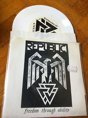 "7""   EMO HC The Republic Of Freedom Fighters Label: Linkwork Records ‎– linkwork"