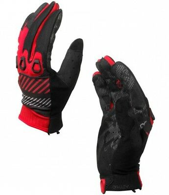 AUTOMATIC GLOVE Handschuhe Oakley red line