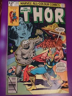 The mighty Thor #289 November 1979 Bagged Marvel Comic