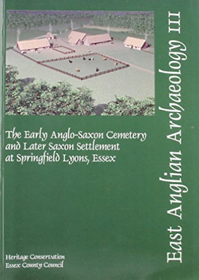 Hilary Major-Early Anglo-Saxon Cemetery And Late  BOOK NEW
