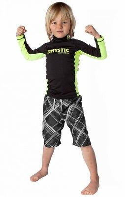STAR UV-Shirt Kids Mystic Langarm black