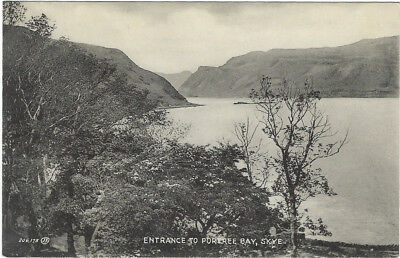 SKYE ( Scotland) : Entrance to Portree Bay - MACINTYRE