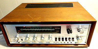Pioneer Stereo Receiver SX 1000TW Wood Cabinet Pro Phono Aux Radio Tuner VTG