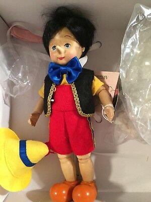 M A 2008 WOODEN PINOCCHIO with Jiminy Cricket RARE #21/500 Excellent condition
