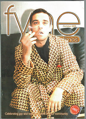 ROBBIE WILLIAMS - Fyne Times. Tennessee Williams. October 2005
