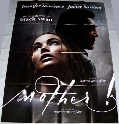 MOTHER! Jennifer Lawrence Javier Bardem Darren Aronofsky LARGE French POSTER