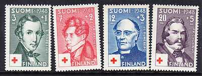 Finland Red Cross 1948 set 460/3 Mint Never Hinged