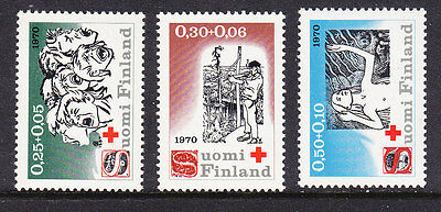 Finland Red Cross 1970 set 768/70  Mint  Never Hinged