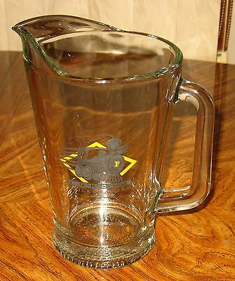 Purdue Boilermakers Glass Beer Pitcher