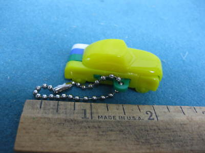 Vintage Toy Puzzle Keychain, Sedan Car