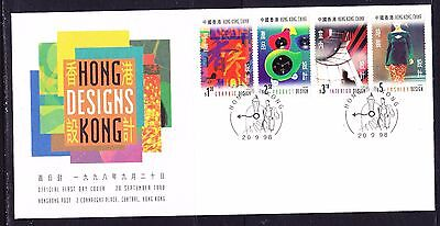 Hong Kong 1998 Designs   First Day Cover